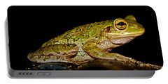 Portable Battery Charger featuring the photograph Cuban Tree Frog by Olga Hamilton