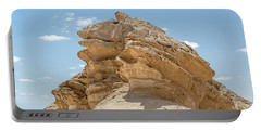 Portable Battery Charger featuring the photograph Frog Rock by Arik Baltinester