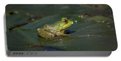 Portable Battery Charger featuring the photograph Froggy 2 by Douglas Stucky