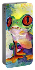 Froggy Mcfrogerson Portable Battery Charger