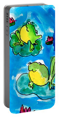 Frogs Portable Battery Charger
