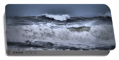 Portable Battery Charger featuring the photograph Frolicsome Waves by Jeff Swan