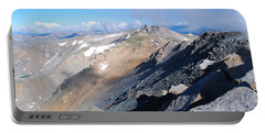 Portable Battery Charger featuring the photograph From Atop Mount Massive by Cascade Colors