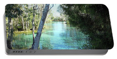 From Spring 3 To Spring 2 At Three Sisters Springs Portable Battery Charger