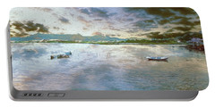 Portable Battery Charger featuring the photograph From The Causeway by Leigh Kemp