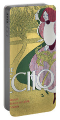 Front Cover Of The Echo Portable Battery Charger by William Bradley