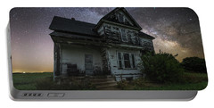 Front Porch  Portable Battery Charger by Aaron J Groen