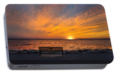 Portable Battery Charger featuring the photograph Front Row Seat by Robin-Lee Vieira