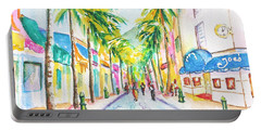 Front Street Philipsburg St. Maarten  Portable Battery Charger
