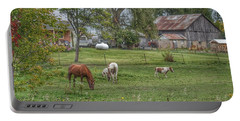 1008 - Front Yard Ponies Portable Battery Charger