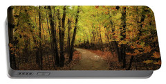 Frontenac State Park In Autumn Portable Battery Charger