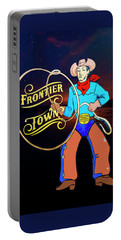 Portable Battery Charger featuring the photograph Frontier Town by Paul Wear