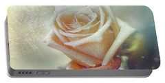 Frosty Rose Portable Battery Charger
