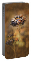Frosted Bloom Portable Battery Charger by Robert FERD Frank