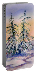 Frosted Dawn Portable Battery Charger