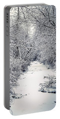 Frosted Feeder Portable Battery Charger