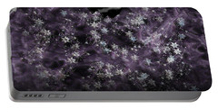 Frosted Purple Mountains Portable Battery Charger