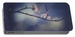 Portable Battery Charger featuring the photograph Frosty Branch by Shane Holsclaw