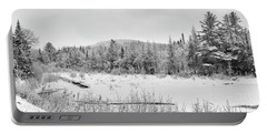 Frosty Forest Portable Battery Charger