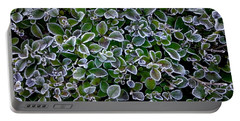 Frosty Hedgerow Portable Battery Charger