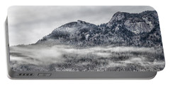 Snowy Grandfather Mountain - Blue Ridge Parkway Portable Battery Charger
