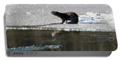 Frosty River Otter  Portable Battery Charger