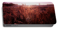 Portable Battery Charger featuring the photograph Frosty Sunrise by Lars Lentz