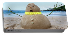 Frosty The Sandman Portable Battery Charger