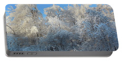 Frosty Trees Portable Battery Charger