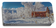 Frosty Winter Morning  Portable Battery Charger