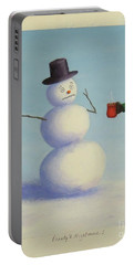 Frosty's Nightmare I Portable Battery Charger