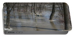 Frozen Floodwaters Portable Battery Charger