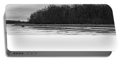 Frozen Forest Lakes Portable Battery Charger