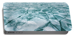 Frozen Lake Portable Battery Charger