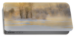 Frozen Morning Portable Battery Charger