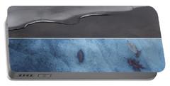 Frozen Solitude Portable Battery Charger by Jason Nicholas