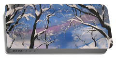 Frozen Tranquility  Portable Battery Charger