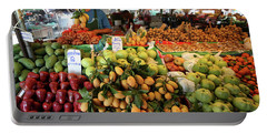 Tropical Fruits In Fruit Market Krabi Town Portable Battery Charger