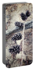 Fruit Of The Pine Portable Battery Charger