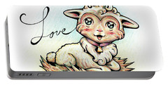 Fruit Of The Spirit Love Portable Battery Charger
