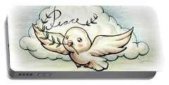 Fruit Of The Spirit Peace Portable Battery Charger