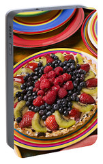 Fruit Tart Pie Portable Battery Charger by Garry Gay
