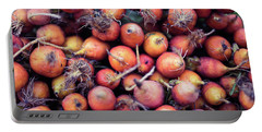 Portable Battery Charger featuring the photograph Fruits And Vegetable At Farmer Market by Jingjits Photography