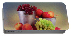 Fruits On Centerstage Portable Battery Charger