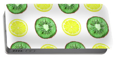 Fruits Print Portable Battery Charger