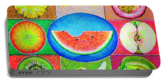 Fruits Portable Battery Charger by Viktor Lazarev