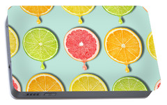 Fruity Portable Battery Charger by Mark Ashkenazi
