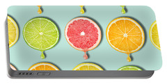Fruity Portable Battery Charger