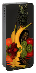Fruity Reflections - Dark Portable Battery Charger