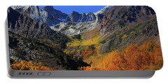 Full Autumn Display At Mcgee Creek Canyon In The Eastern Sierras Portable Battery Charger